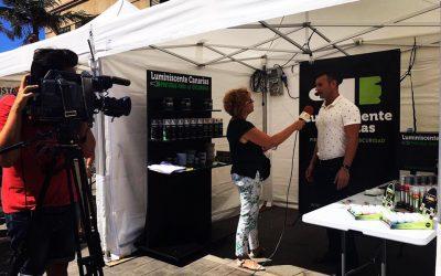Entrevista para Este Canal TV sobre Luminiscente Canarias