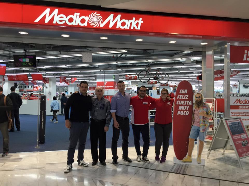 Acuerdo entre 101Racing y Media Markt Las Arenas como servicio técnico oficial para car audio