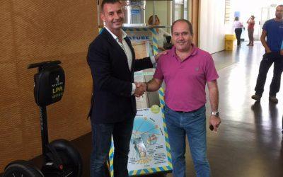 Acuerdo de colaboración con Solnat entre Cristalam y Luminiscente Canarias