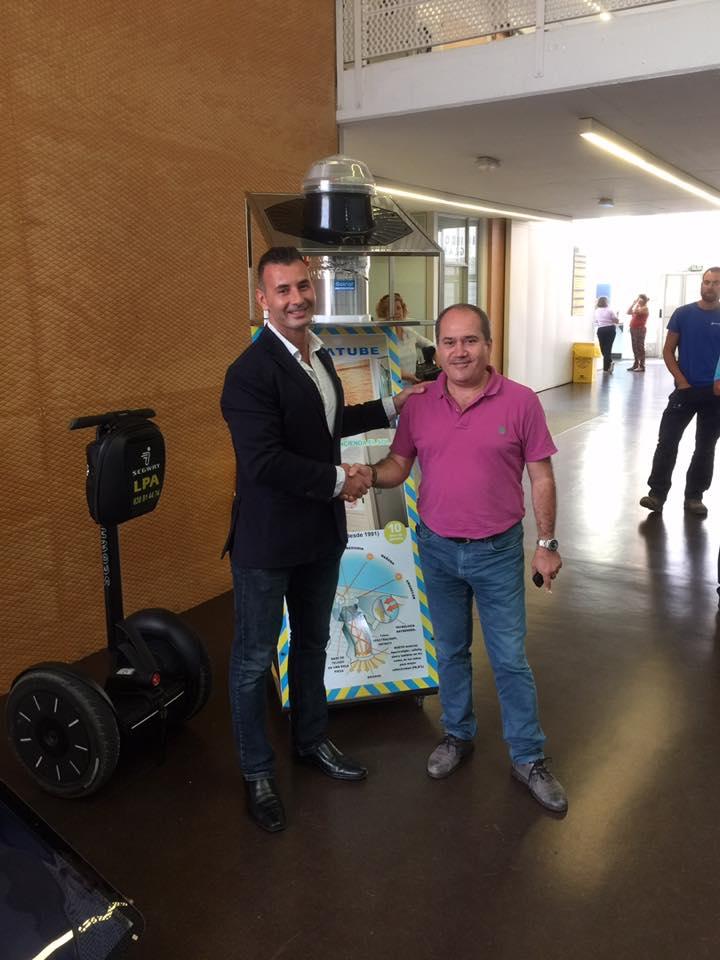 Cristalam y Luminiscente Canarias firman un acuerdo de colaboracion con Solnat