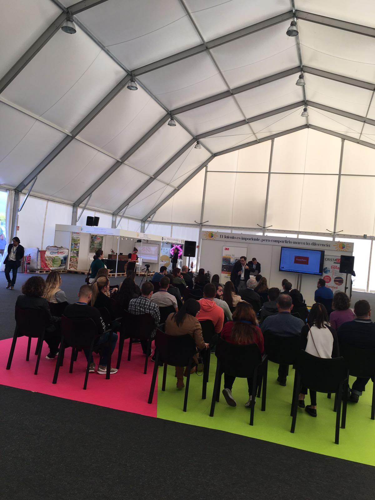 Charla sobre láminas de control solar en la Feria Internacional del Atlántico de Cristalam