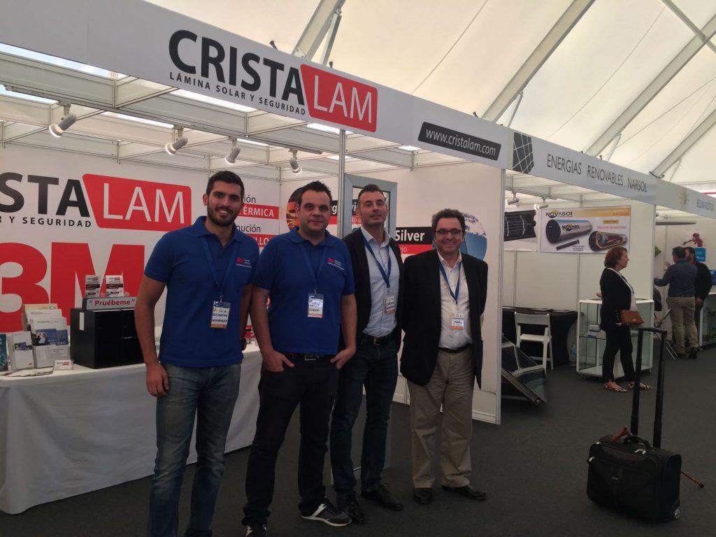 Equipo de Cristalam 3M para la Feria Internacional del Atlántico 2016