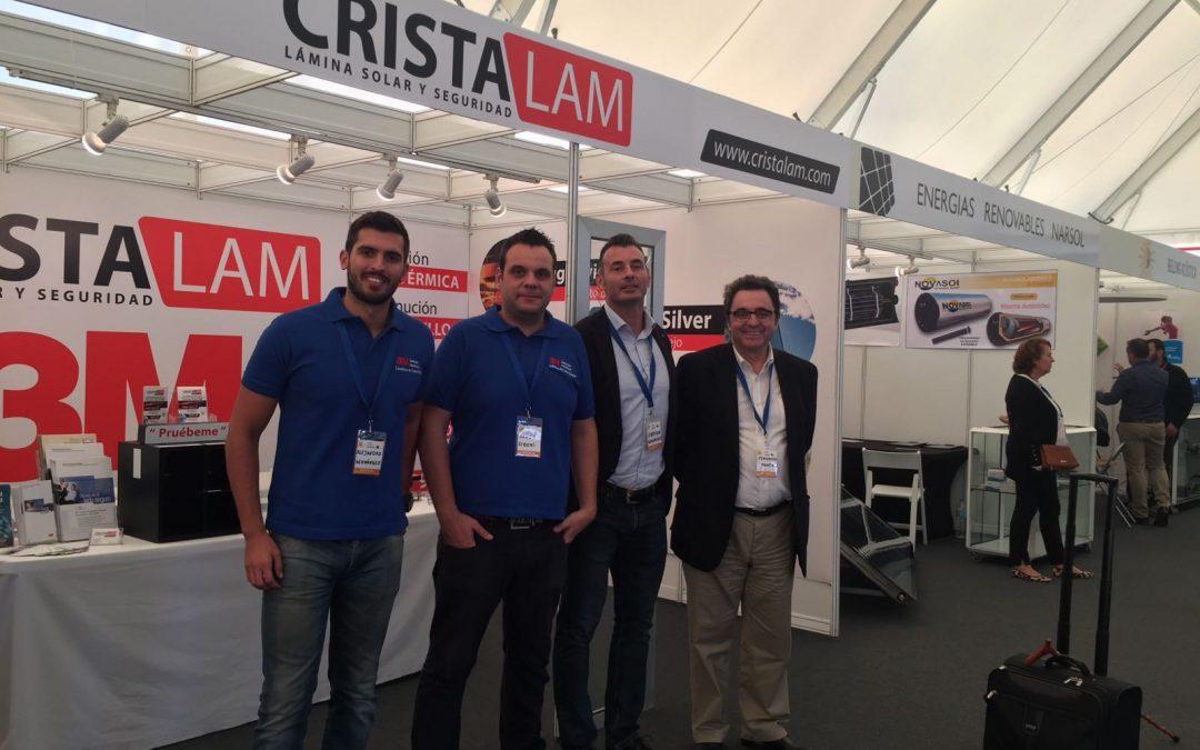 Cristalam y Luminiscente Canarias en la Feria Internacional del Atlántico