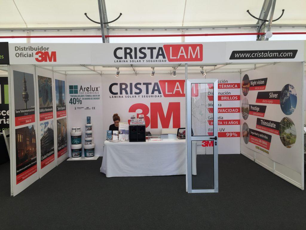 Stand Cristalam Feria Internacional del Atlántico en Las Palmas