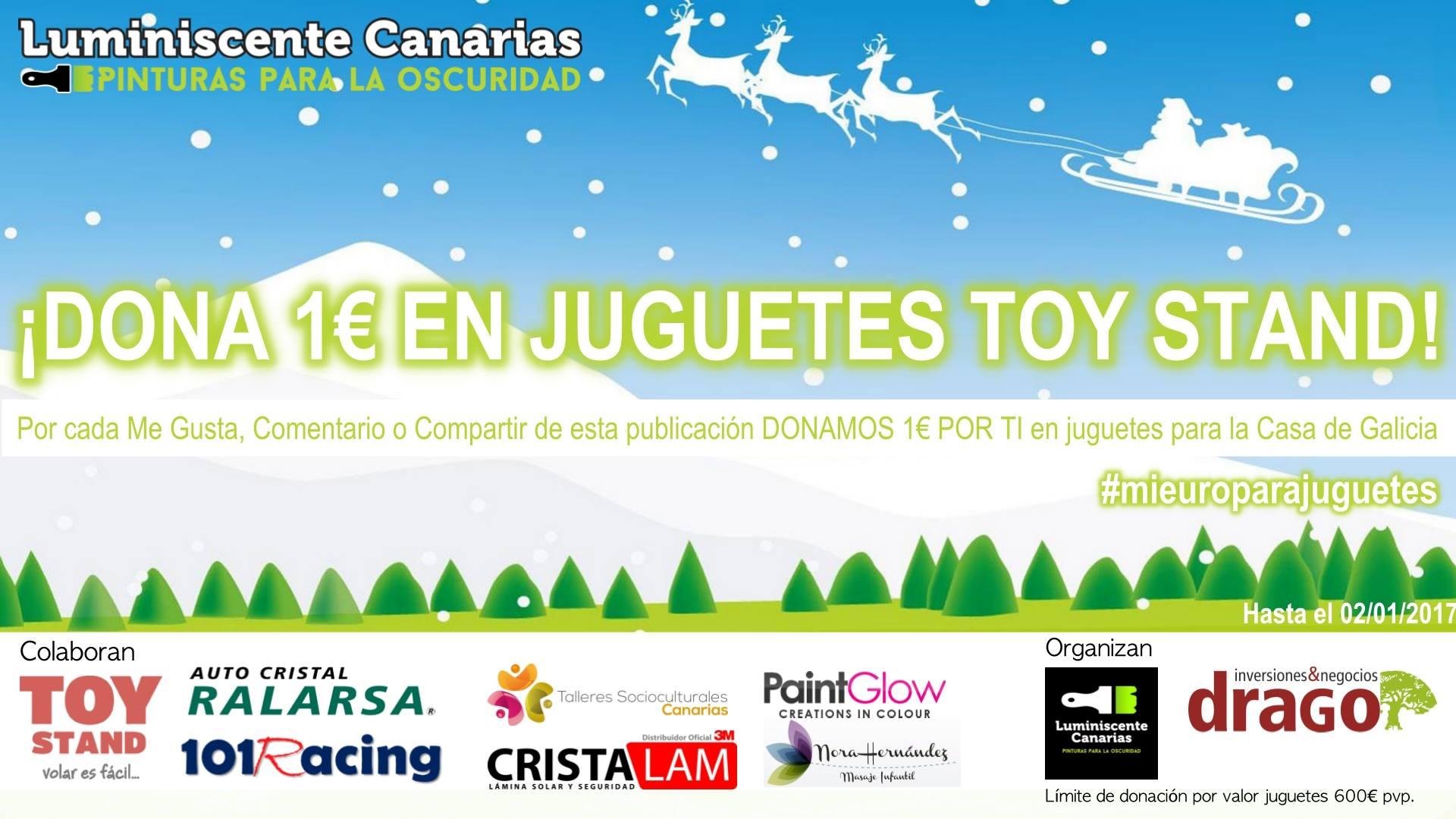 Campaña donación de juguetes Navidad 2016
