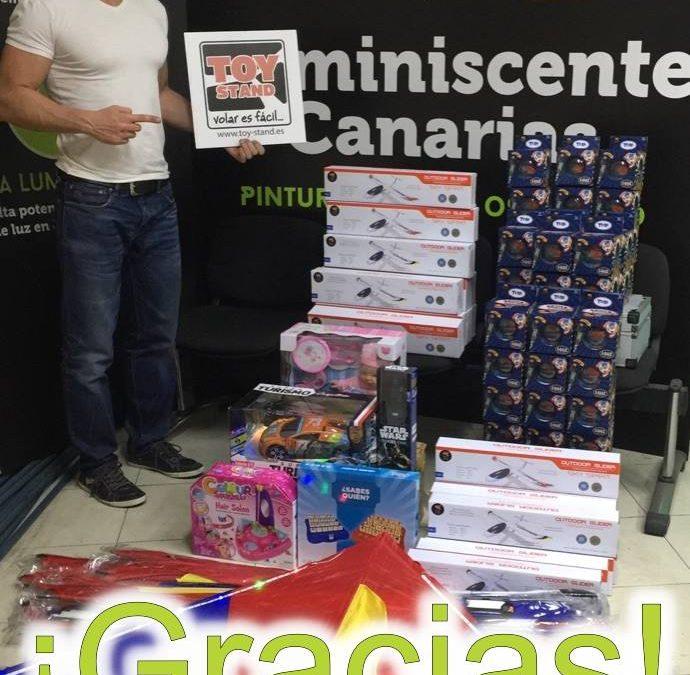 Campaña de recogida juguetes Navidad 2016