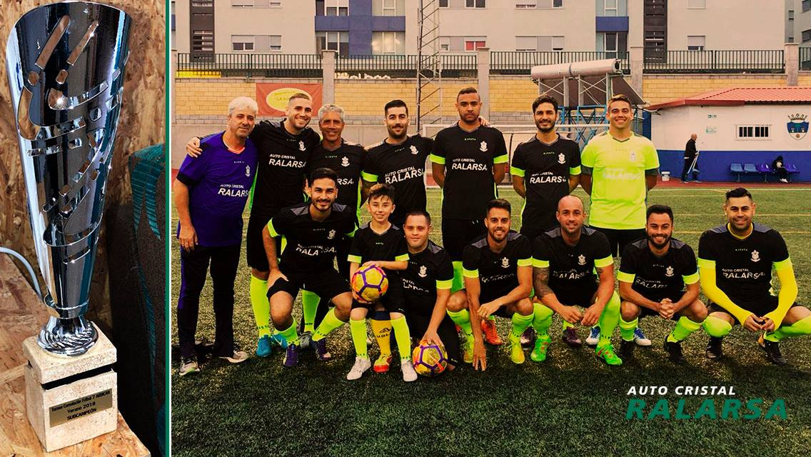 Equipo de futbol 7 patrocinado por Ralarsa y 101Racing