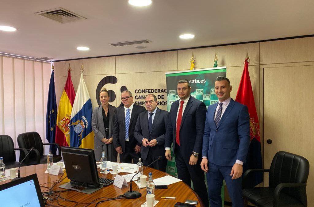 Enrique Hernández Nuez nombrado miembro de la Junta Directiva de ATA Autónomos de Canarias