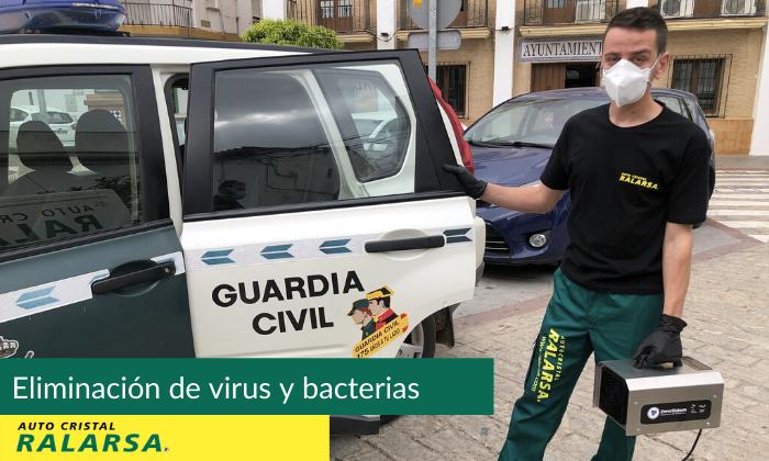 Servicio de desinfección e higiniezacion de coches en Gran Canaria