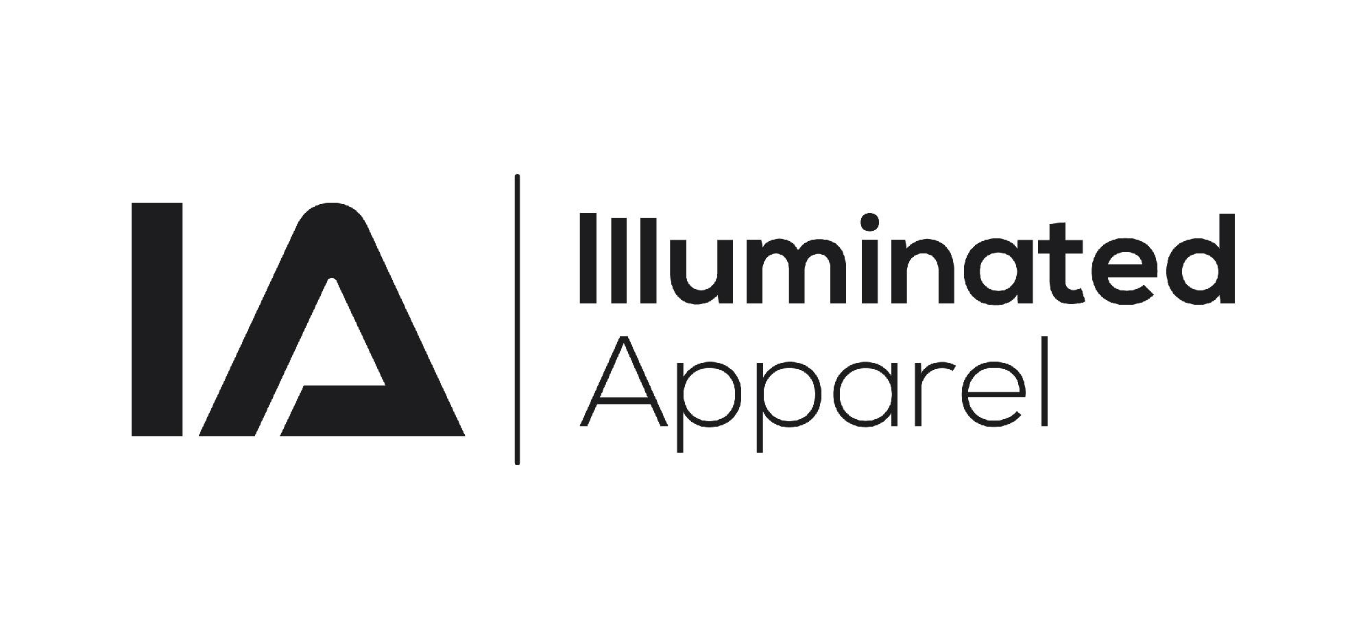 logo illuminated apparel