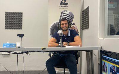 Alejandro Hernández, gerente de EcoBrisas, en el programa de radio «In Company»
