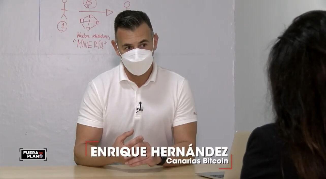 Enrique Hernández Canarias Bitcoin