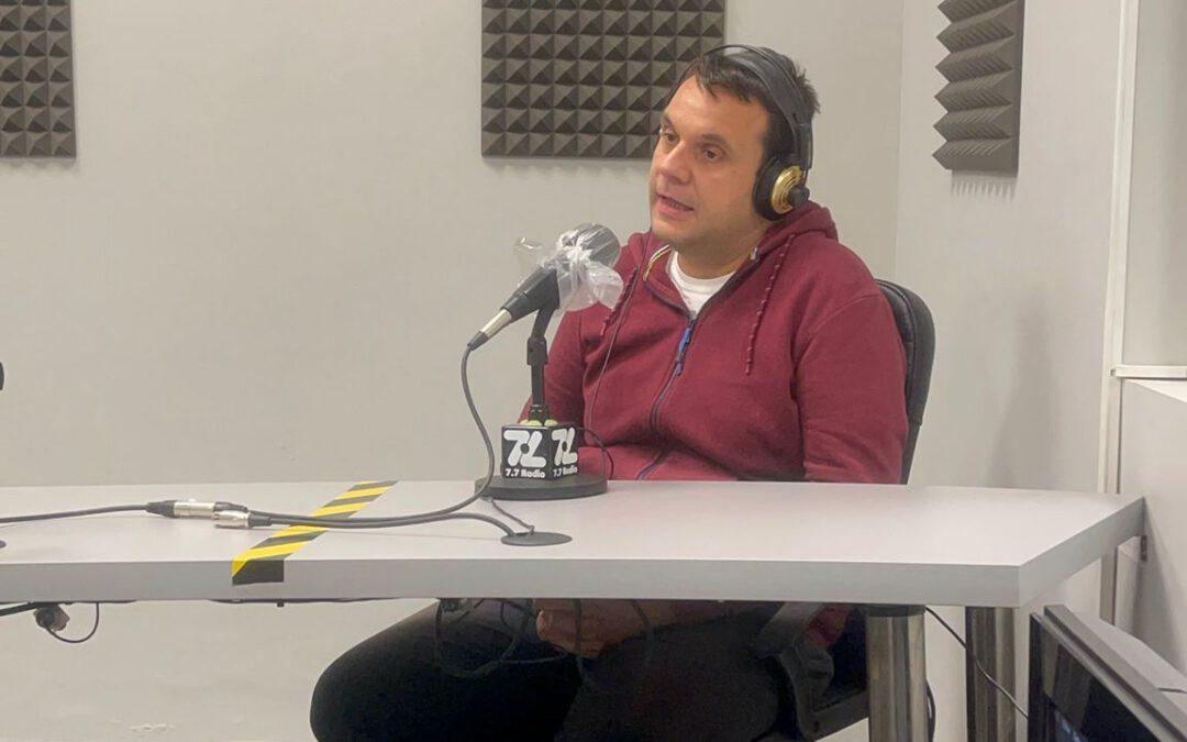 Aaron Siboni, Gerente de Cristalam, en Radio In Company.