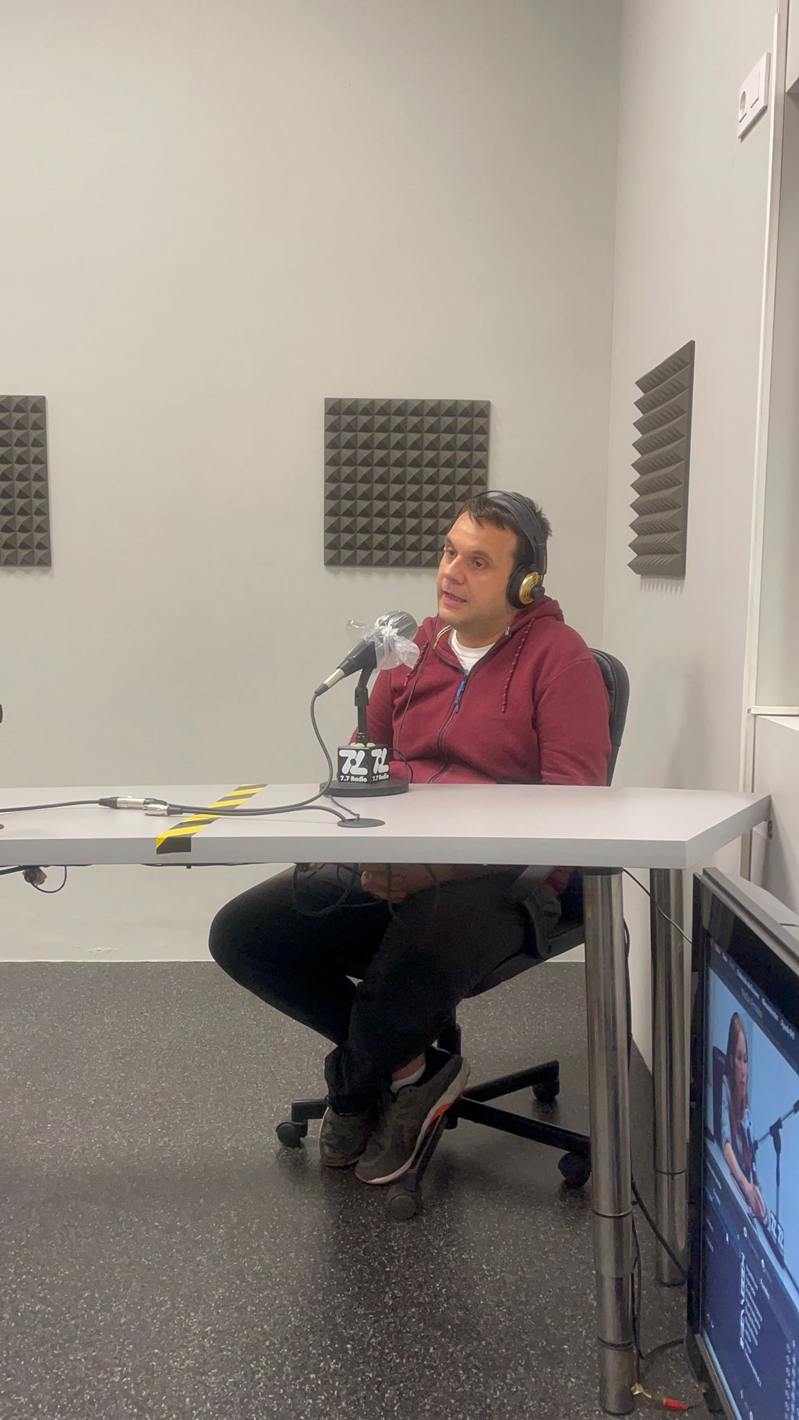 Aaron Siboni Radio In Company