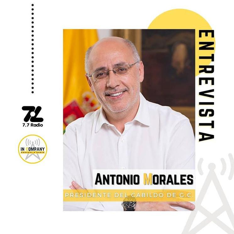 Antonio Morales In Company