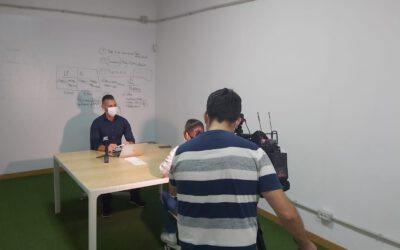 Enrique Hernández en Informativos de RTVC «La caída del Bitcoin»