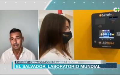 Entrevista Enrique Hernández para RTVC.es hablando de la adopción de Bitcoin como moneda de curso legal en El Salvador.